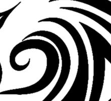 Wolf Tattoo Tribal Sticker