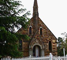 Presbyterain Church Hill End by Evita
