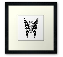 Butterfly Tribal Framed Print