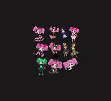 Kawaii Lolita Fashion Types featuring PinkyP by Cartoonistlg