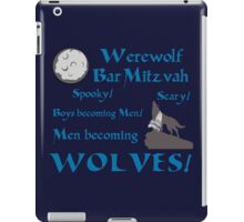 Werewolf Bar Mitzvah iPad Case/Skin