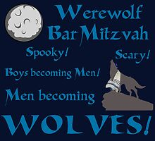 Werewolf Bar Mitzvah by SuperGuy