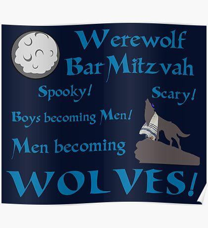 Werewolf Bar Mitzvah Poster