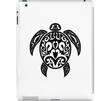 Sea Turtle Tribal Tattoo iPad Case/Skin