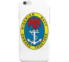 Badge of the Nigerian Navy iPhone Case/Skin