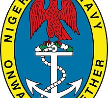 Badge of the Nigerian Navy by abbeyz71