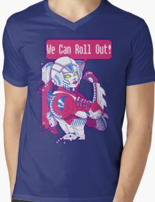 Arcee - We Can Roll OUT! Mens V-Neck T-Shirt