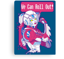 Arcee - We Can Roll OUT! Canvas Print