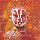 'Serious Face Paint' by Pauline Adair