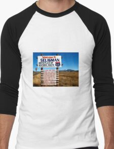 welcome to seligman Men's Baseball ¾ T-Shirt