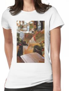 New York Drink Womens Fitted T-Shirt