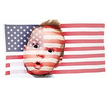 American Babyyy Photographic Print