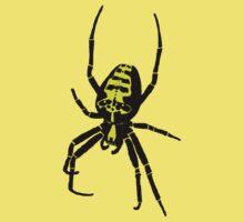 Spider - Yellow Kids Tee