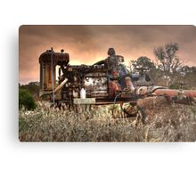 Old Fordson Pump Metal Print