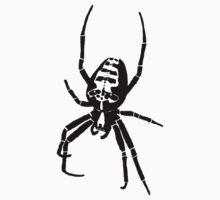 Spider - White One Piece - Short Sleeve