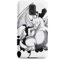 Pokemon - A Charizard Sketch (White Background) Samsung Galaxy Case/Skin