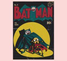 Batman and Robin/Adventure time Mashup Kids Tee