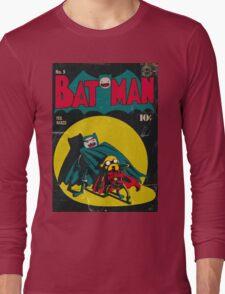 Batman and Robin/Adventure time Mashup Long Sleeve T-Shirt