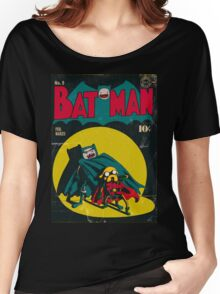 Batman and Robin/Adventure time Mashup Women's Relaxed Fit T-Shirt