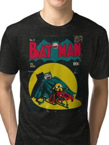 Batman and Robin/Adventure time Mashup Tri-blend T-Shirt