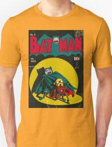 Batman and Robin/Adventure time Mashup T-Shirt