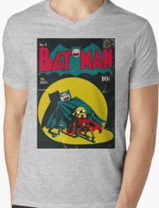 Batman and Robin/Adventure time Mashup Mens V-Neck T-Shirt