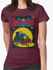 Batman and Robin/Adventure time Mashup Womens Fitted T-Shirt