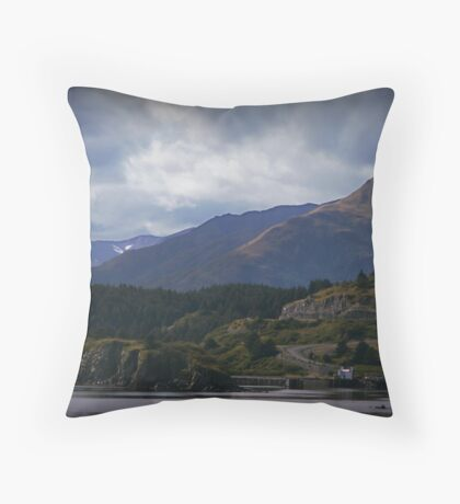 Kodiak, Alaska Throw Pillow