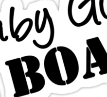 Baby Girl on Board Maternity Wear (pregnant, pregnancy) Sticker