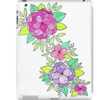 PEONIES WATERCOLOR iPad Case/Skin
