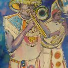brass band by christine purtle