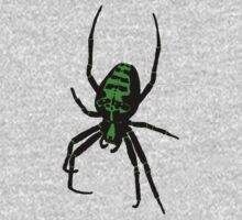 Spider - Green One Piece - Long Sleeve