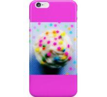 Rainbow Brite Star Sprinkles Cupcake iPhone Case/Skin
