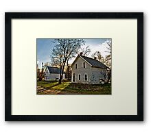 Pioneer Homes Framed Print