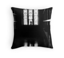 judgement hour Throw Pillow