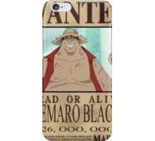 Wanted Luffy Fake - One Piece iPhone Case/Skin
