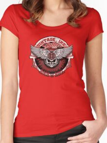 Vintage Ink Tattoo Women's Fitted Scoop T-Shirt