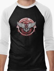 Vintage Ink Tattoo Men's Baseball ¾ T-Shirt