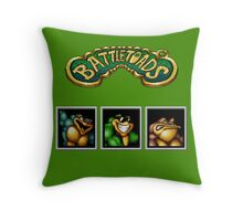 Battletoads Throw Pillow