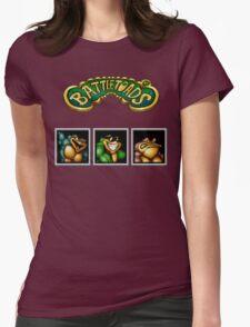 Battletoads Womens Fitted T-Shirt