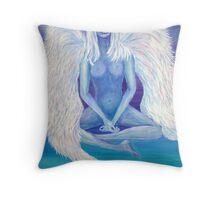 ANGEL OF LIGHT Throw Pillow