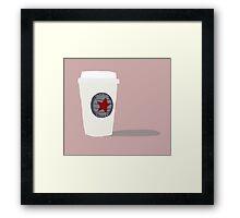 Star-Bucky Coffee Framed Print