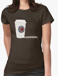 Star-Bucky Coffee Womens Fitted T-Shirt