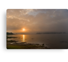 One misty moisty morning Canvas Print