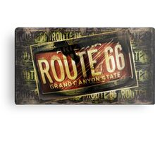 route 66 grand canyon Metal Print