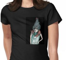 Wiley fox Womens Fitted T-Shirt