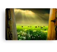 Gates of Life Canvas Print