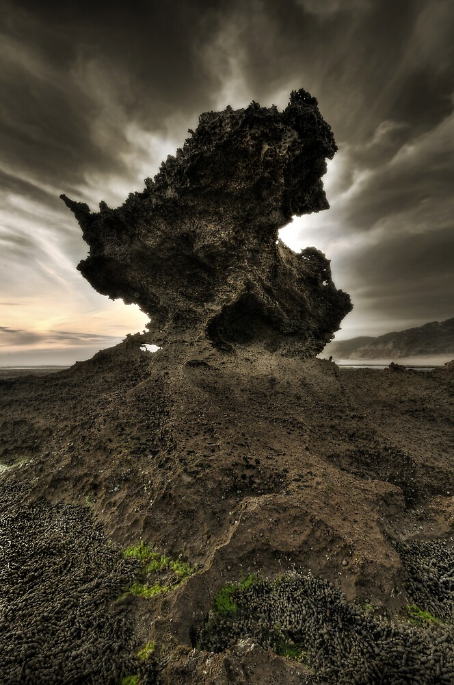 Eroded Nepean Sundown by Robert Mullner