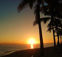 Raro Sunset by niggle