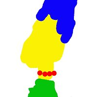Marge Simpson Scribble by headcake